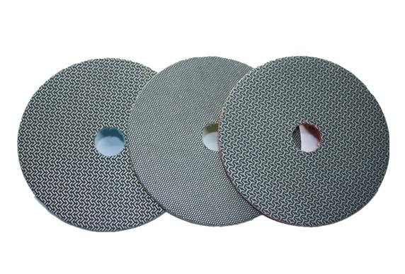 Electroplated diamond polishing pads 2