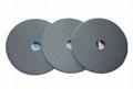 Electroplated diamond polishing pads