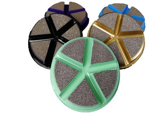 Ceramic bonded floor pads 1