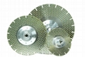 Segmented Vanity Marble cutting and  grinding blades with M14