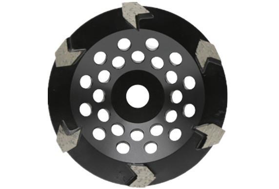Arrow segmented  diamond cup wheels 1