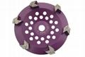 Arrow segmented  diamond cup wheels