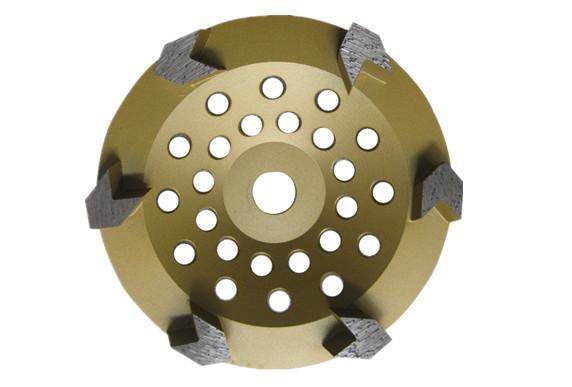 Arrow segmented  diamond cup wheels 4