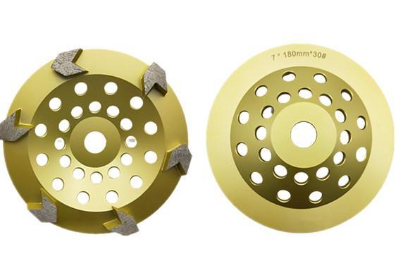 Arrow segmented  diamond cup wheels 5