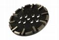 Blastrac 250mm diamond grinding plates disc wheels