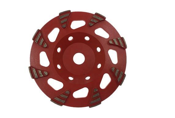Fan Segmented diamond cup wheels 1