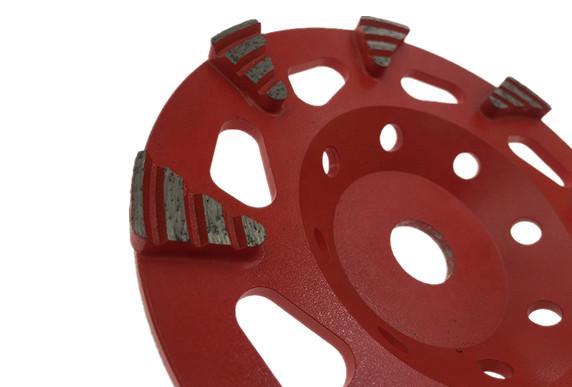 Fan Segmented diamond cup wheels 3