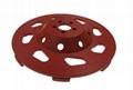 Fan Segmented diamond cup wheels