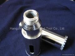 Vacuum Brazed diamond core drill bit china