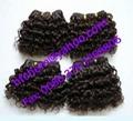 afro deep water human hair extension