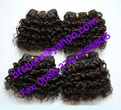 afro deep water human hair extension
