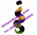 body weaving human hair extension