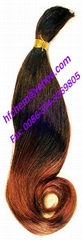 HJ bulk human hair extension