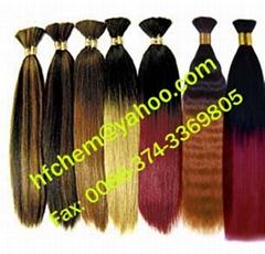 yaki bulk hair extension