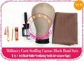 NEW Millinery Cork Canvas Block Head 4 Lace Wigs Making
