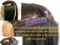 glue weft human hair extension
