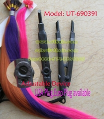 hair extension iron & connector