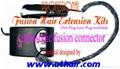 ultrasonic fusion hair connector