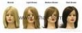 practice head,lesson wig