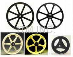 Nylon Wheels, Rims for Wheelchair, Bike