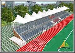 体育场看台膜结构设计与施工