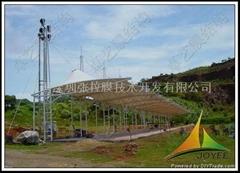 广州高尔夫练习场膜结构