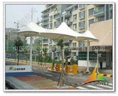 景观入口膜结构雨棚