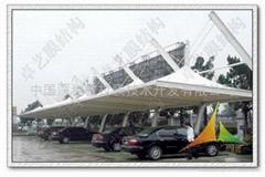 郑州医学院膜结构车棚