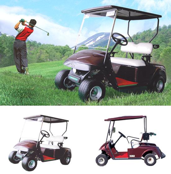 二座高爾夫球車 1