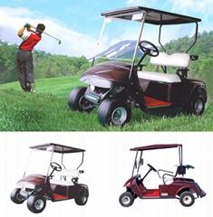 二座高爾夫球車