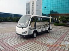 LQY145B朗晴牌十四座電動觀光車