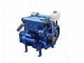 27HP INBOARD MARINE DIESEL ENGINE with NEW CE 1