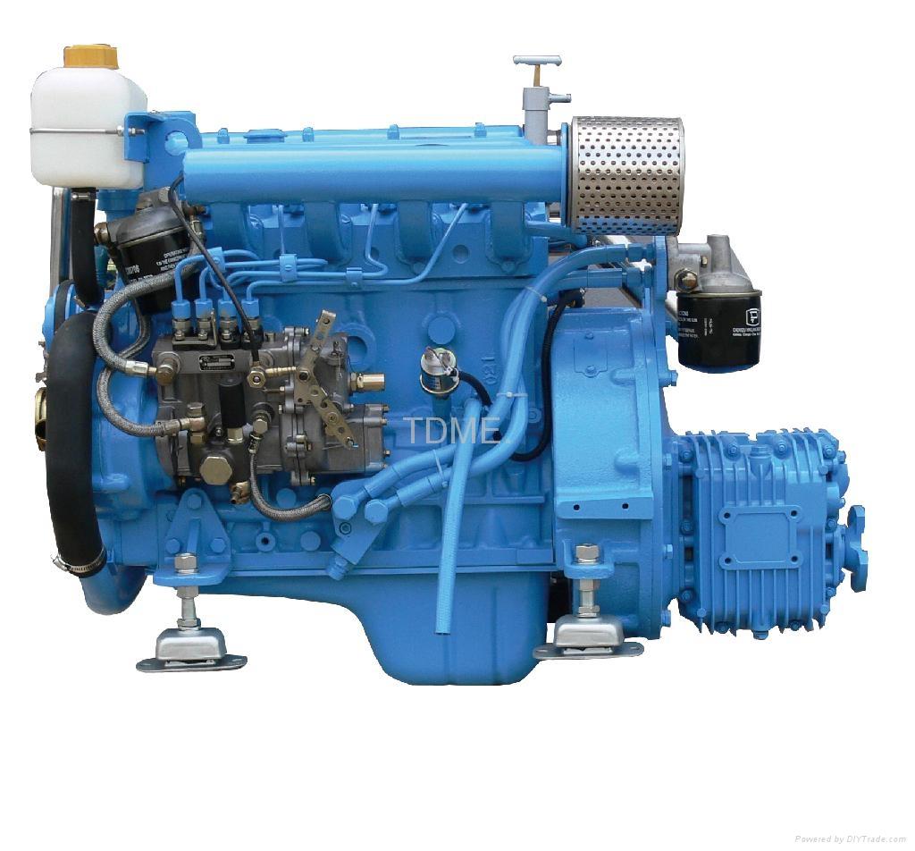 46hp Marine Diesel Engine Tdme 485 Tdme China