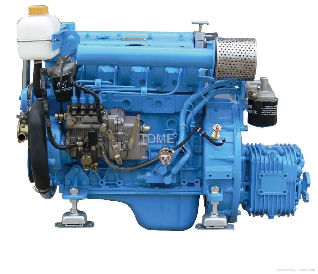 37Hp Boat  Engine with new CE 1