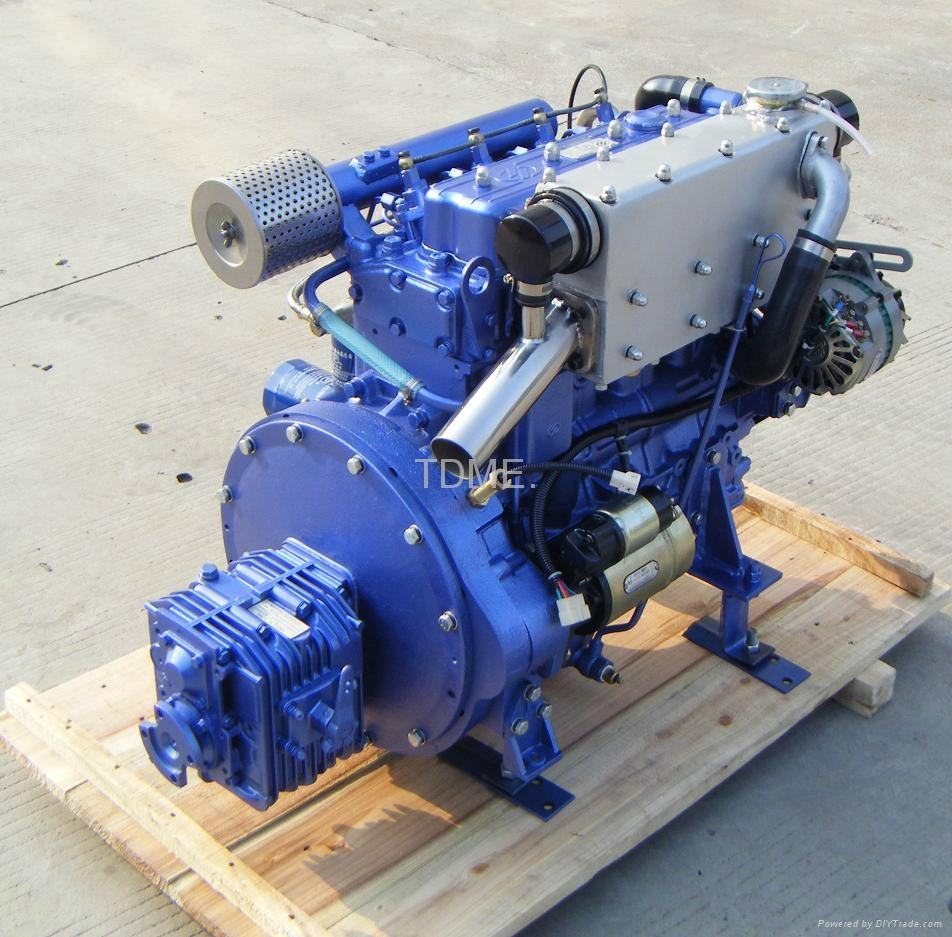 58hp Inboard Marine Diesel Engine China Manufacturer