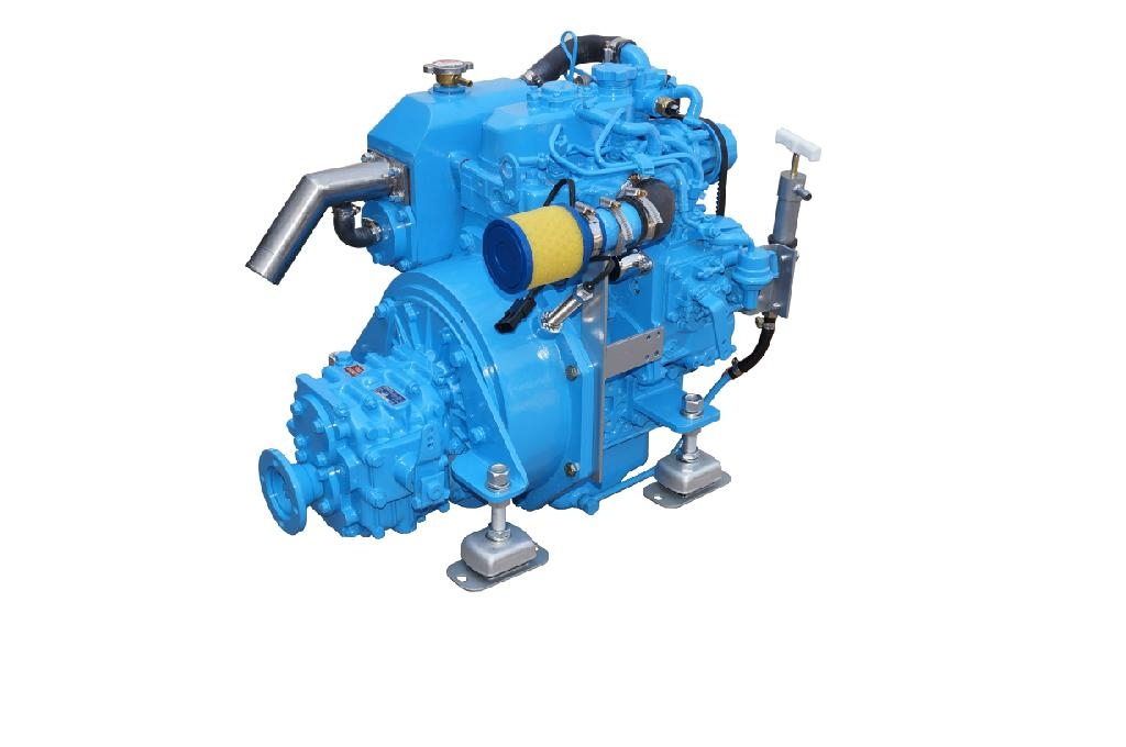 CE APPROVED 14Hp SMALL MARINE ENGINE WITH GEARBOX 1