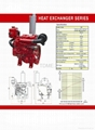 Heat Exchanger  Series Diesel Engine for