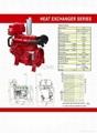Heat Exchanger  Series Diesel Engine for Fire Pump Station 2
