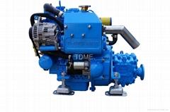 TDME-3M78CR(27hp)High Speed Compact  Inboard Yacht Marine Diesel Engine