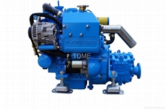 TDME-3M78(21hp)High speed Compact  Inboard Marine Diesel Engine