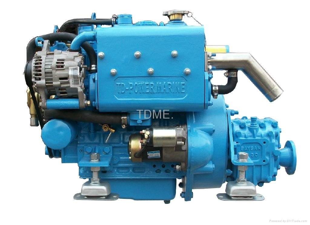 Small Marine Diesel Engine Tdme 3m78 Tdme China