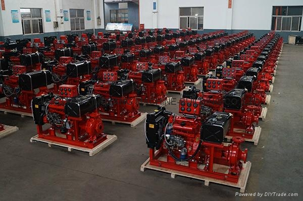UL Listed 380/ 27hp Diesel Engine for for Fire pump  3