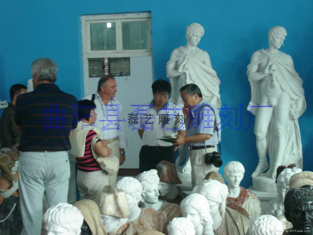 长期批发供应订做各种大理石雕刻产品 1