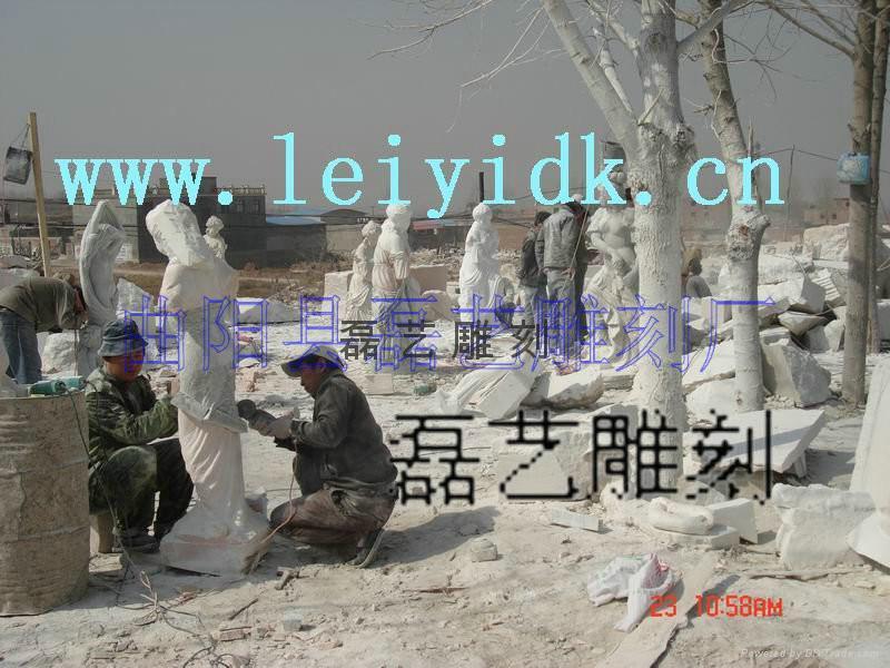 長期批發供應訂做各種大理石雕刻產品 4