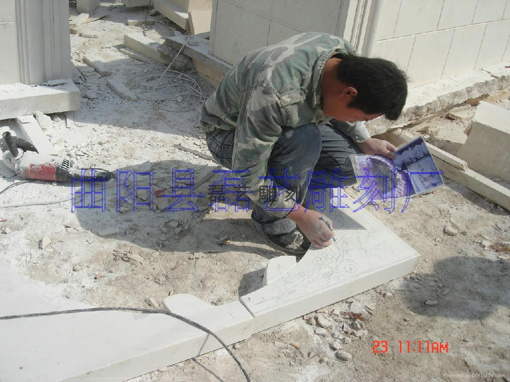 长期批发供应订做各种大理石雕刻产品 5
