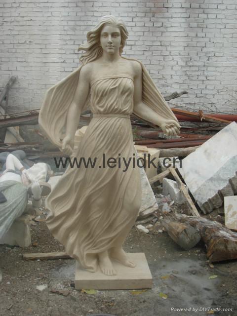 大理石人物雕塑 3