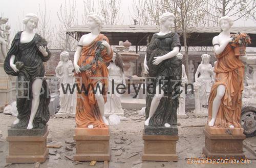 大理石人物雕塑 5