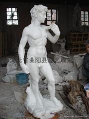 西方雕刻大卫