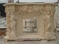 壁爐、石雕工藝品、雕塑 2