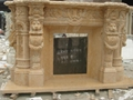 壁爐、石雕工藝品、雕塑 4